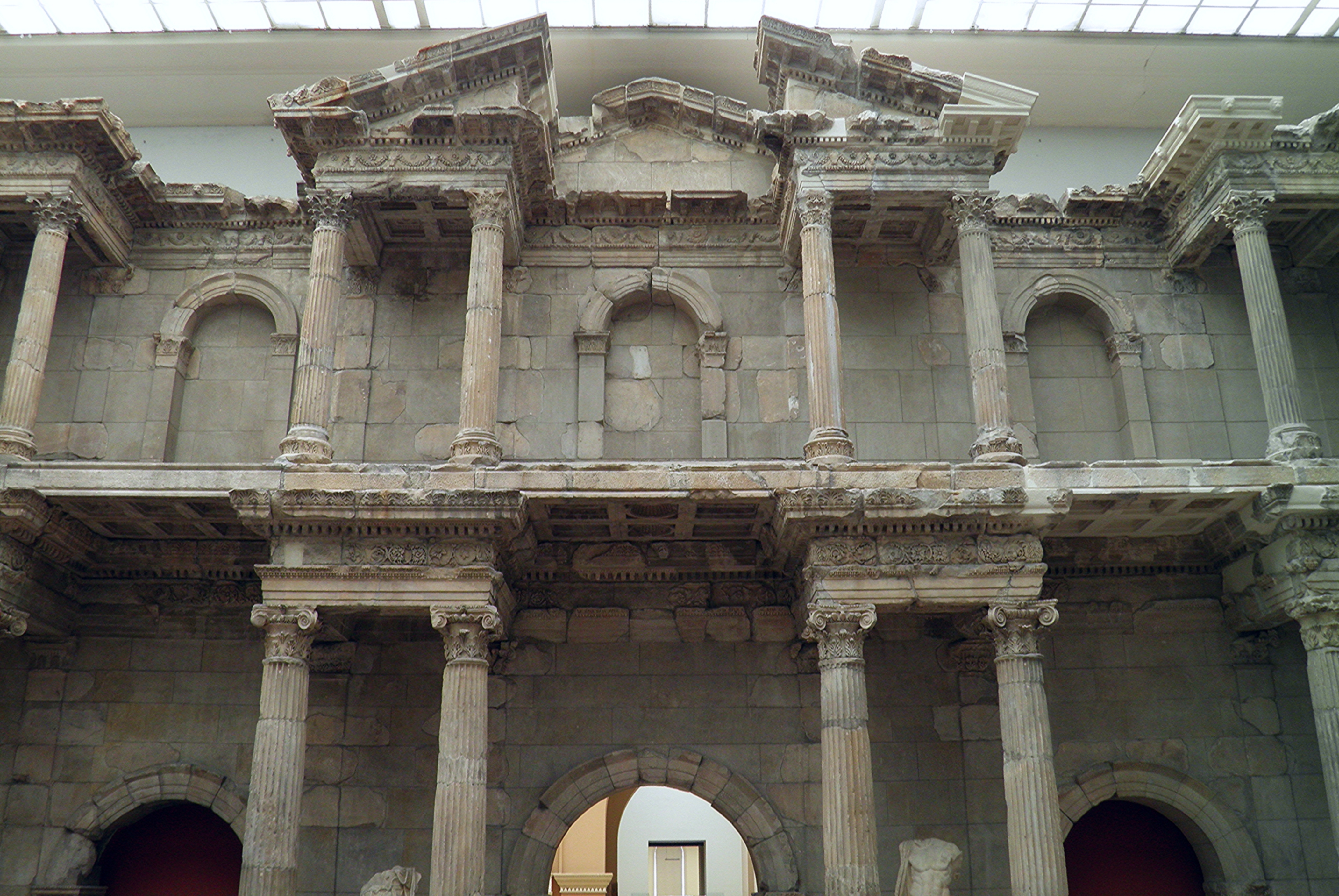 File:Market Gate of Miletus, early 2nd century AD (reign ...