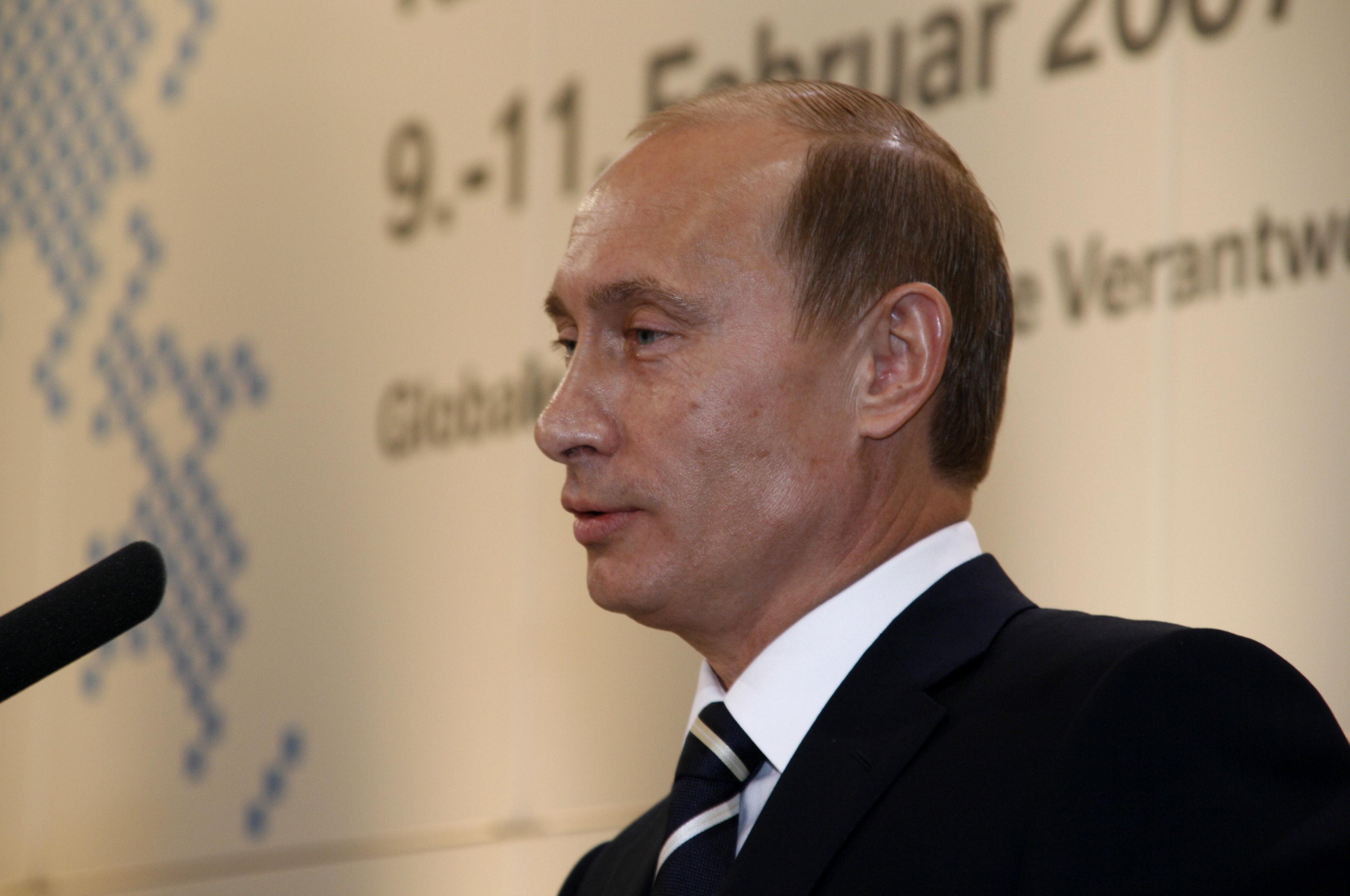 Путин новая прическа