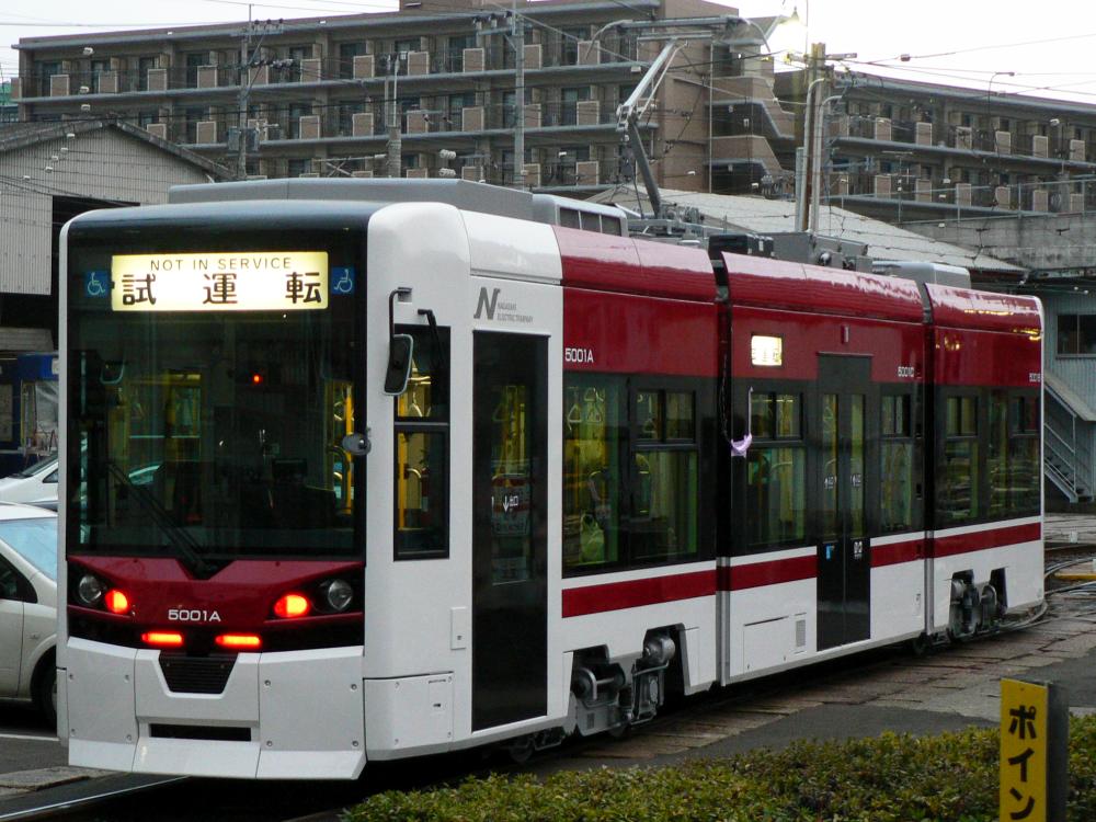 Nagasaki Electric Tramway 5001 20110124 2