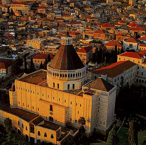 Basilica of the Annunciation © WikiCommons