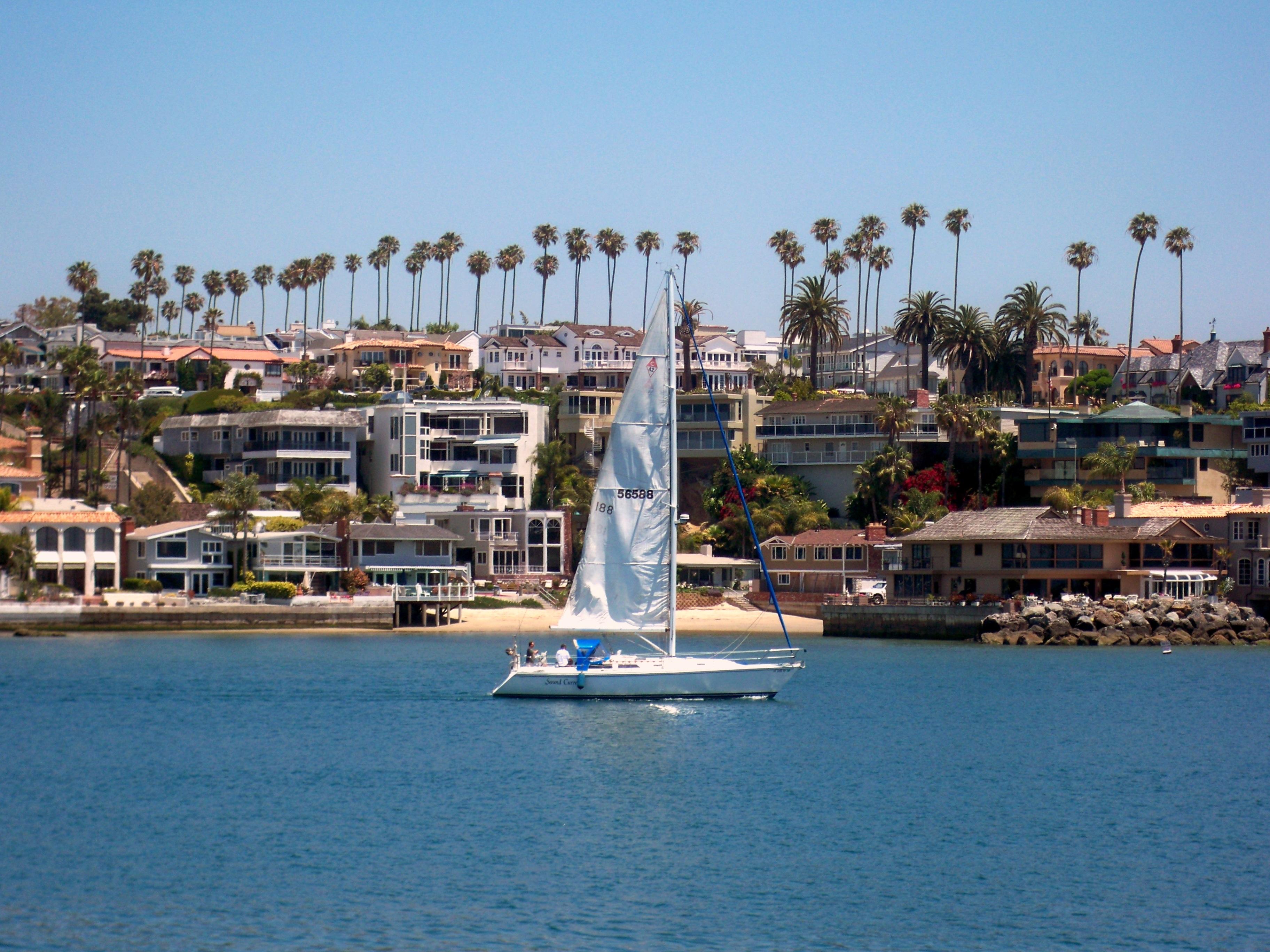 File Newport From Balboa Island Jpg
