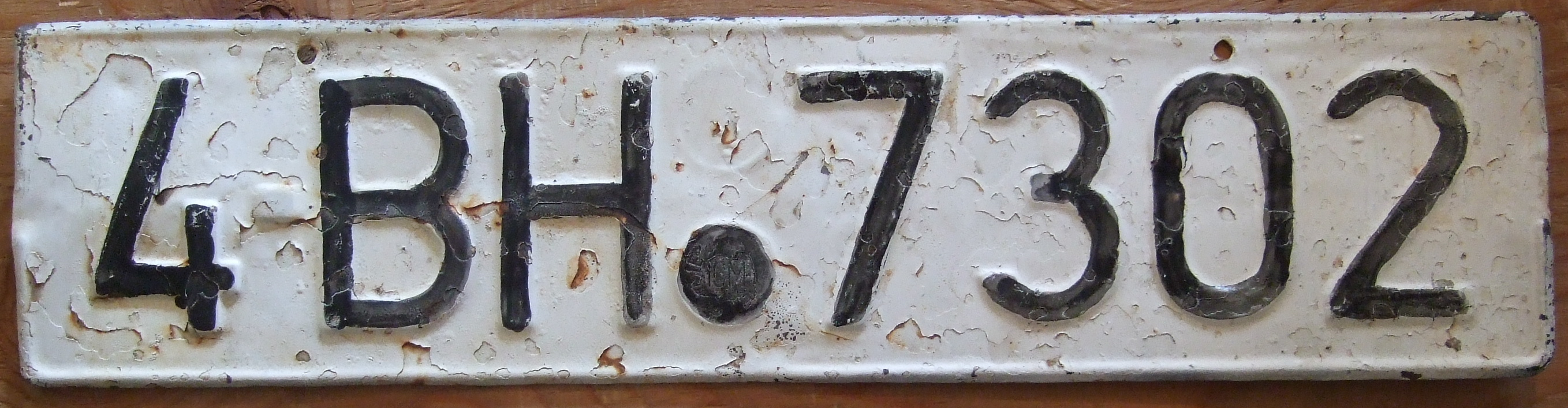 File:Old Romanian license plate.jpg - Wikimedia Commons