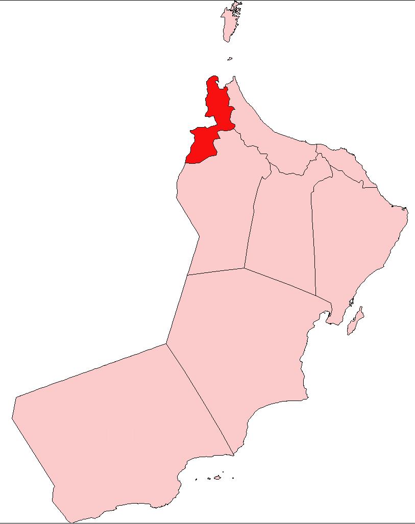 FileOman Al Buraimipng Wikimedia Commons - Oman map png