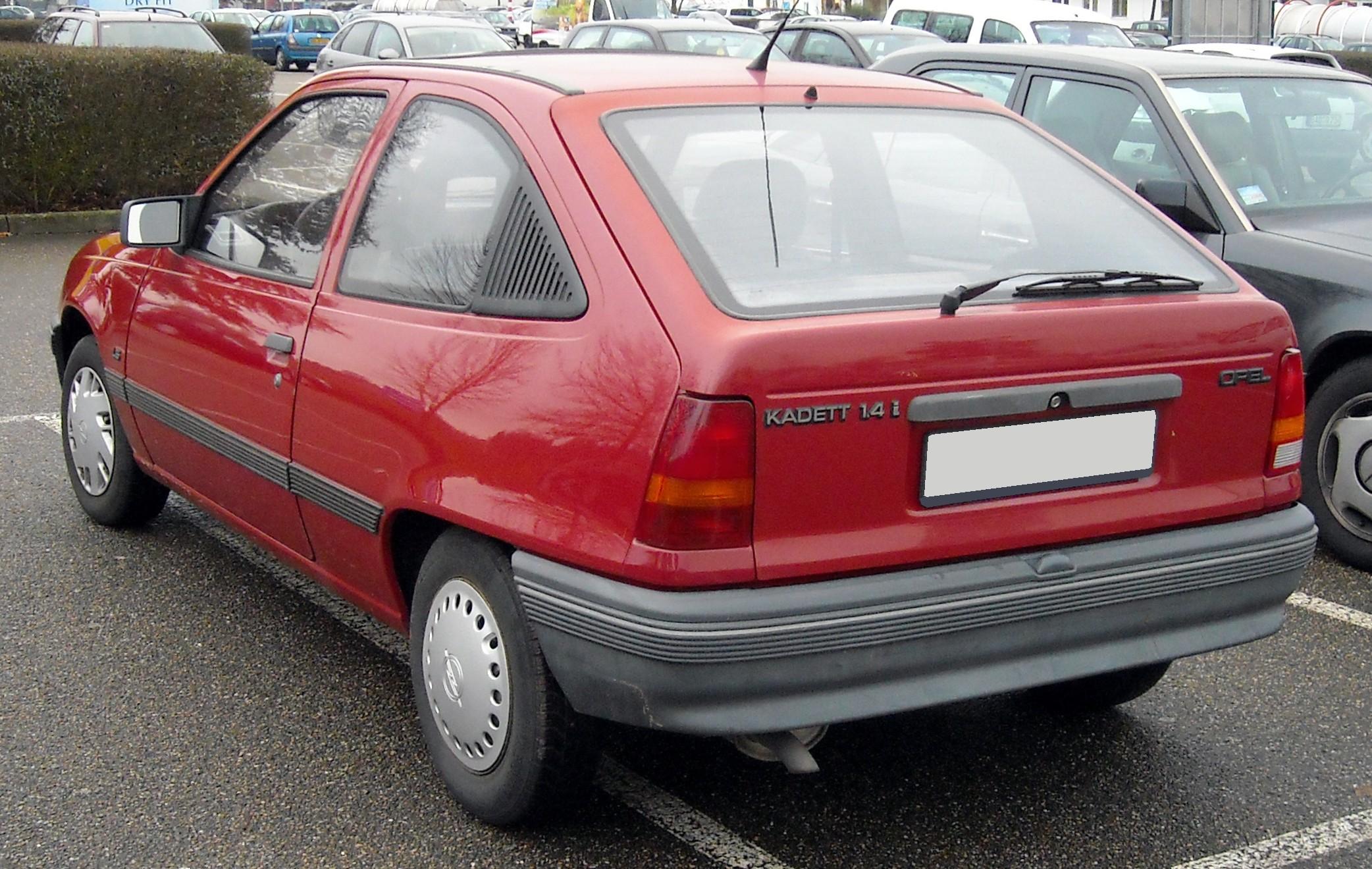 File:Opel Kadett E rear 20081218.jpg - Wikimedia Commons