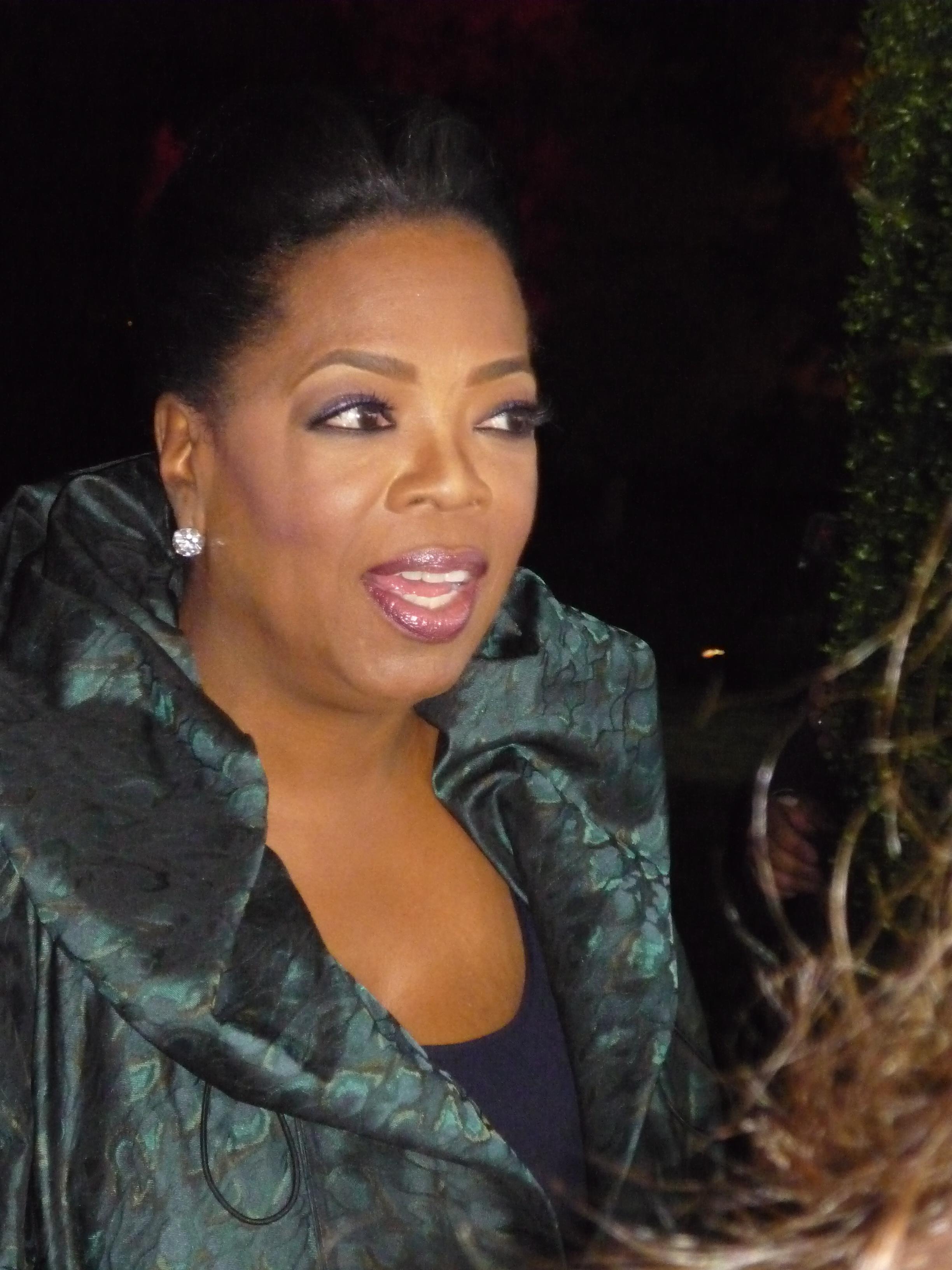 Oprah Winfrey Größe