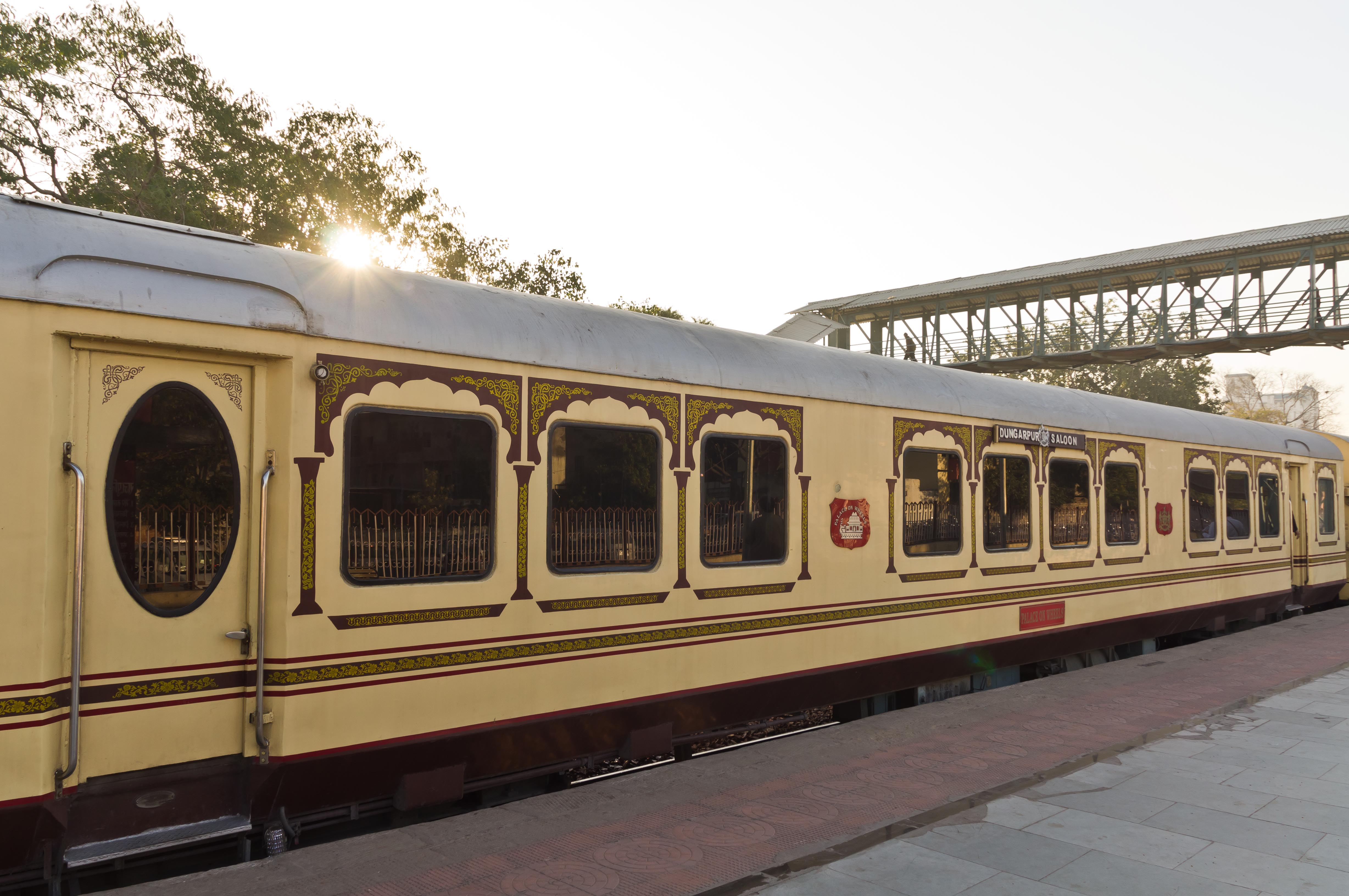 palace on wheels Check out the price of palace on wheels train for the peak and lean season, which are based on its occupancy either single and double.