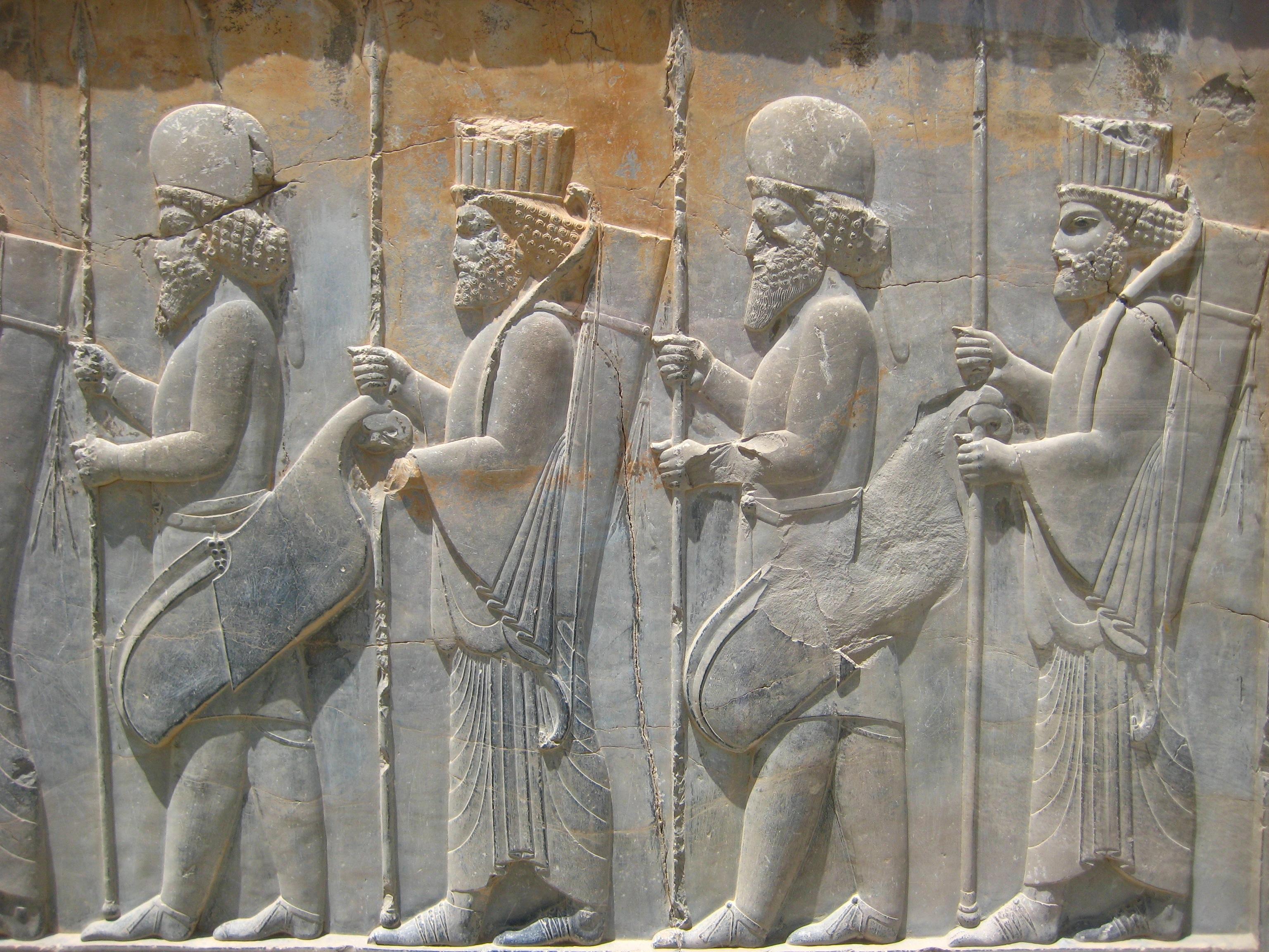 File persepolis stairs of the apadana relief g