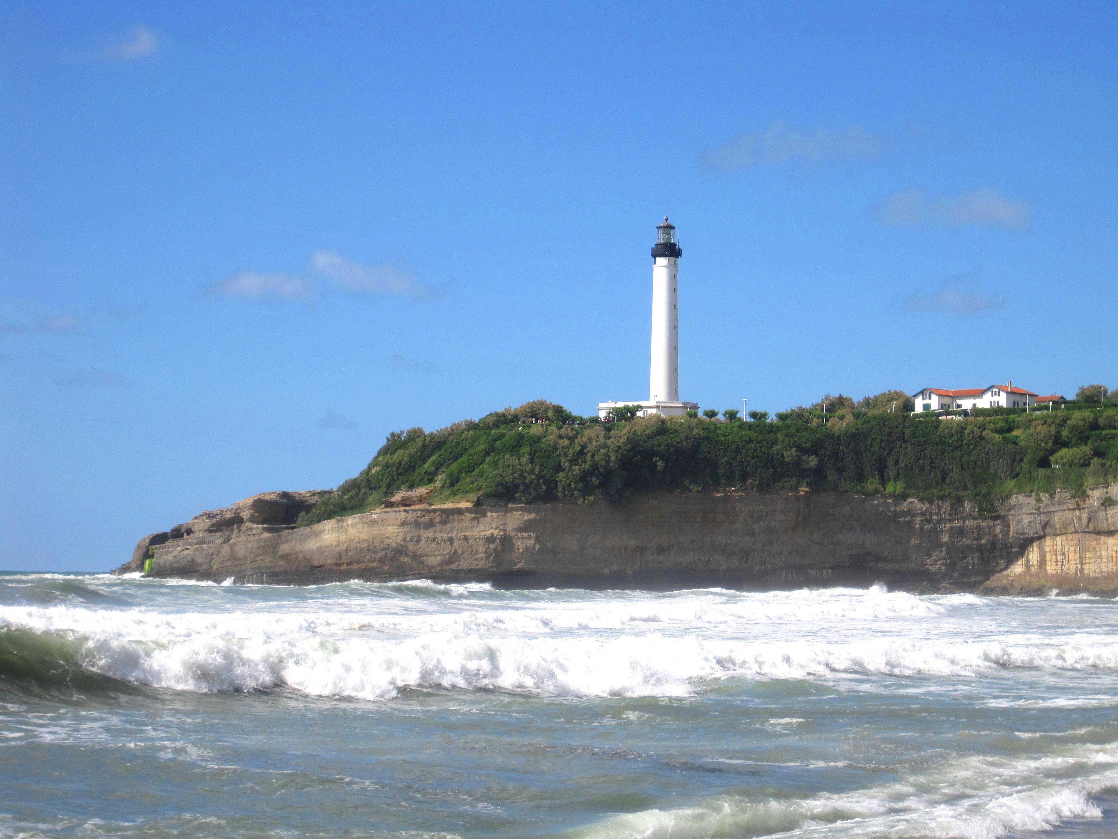 Week end biarritz le takablog - Phare de biarritz ...