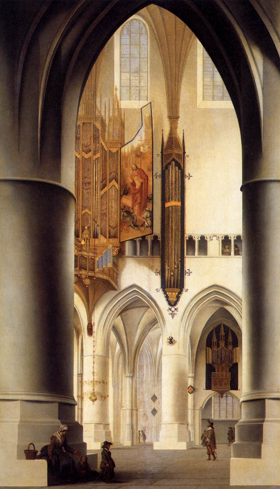 File pieter janszoon saenredam interior of the church of for Interieur haarlem