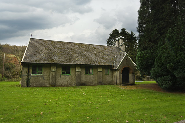 Pontneddfechan Church - geograph.org.uk - 1598944