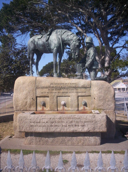 File:Port Elizabeth Horse Memorial.jpg