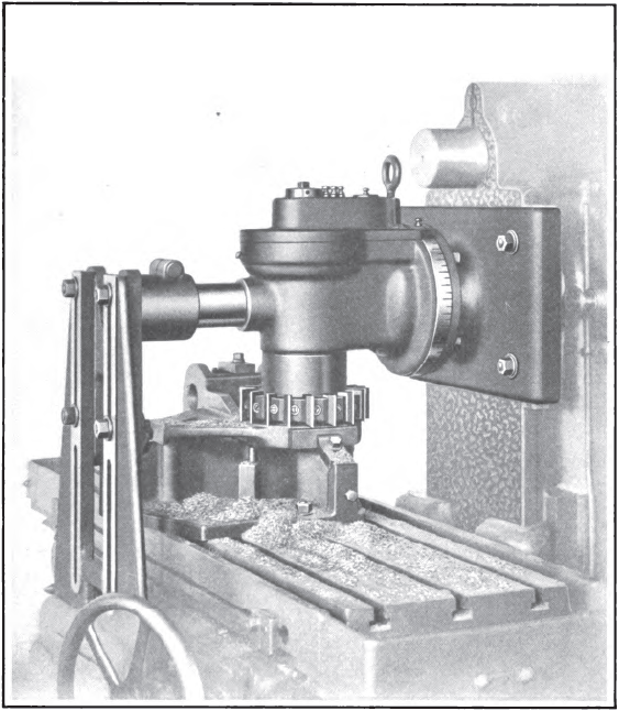 Practical Treatise on Milling and Milling Machines/Chapter 7