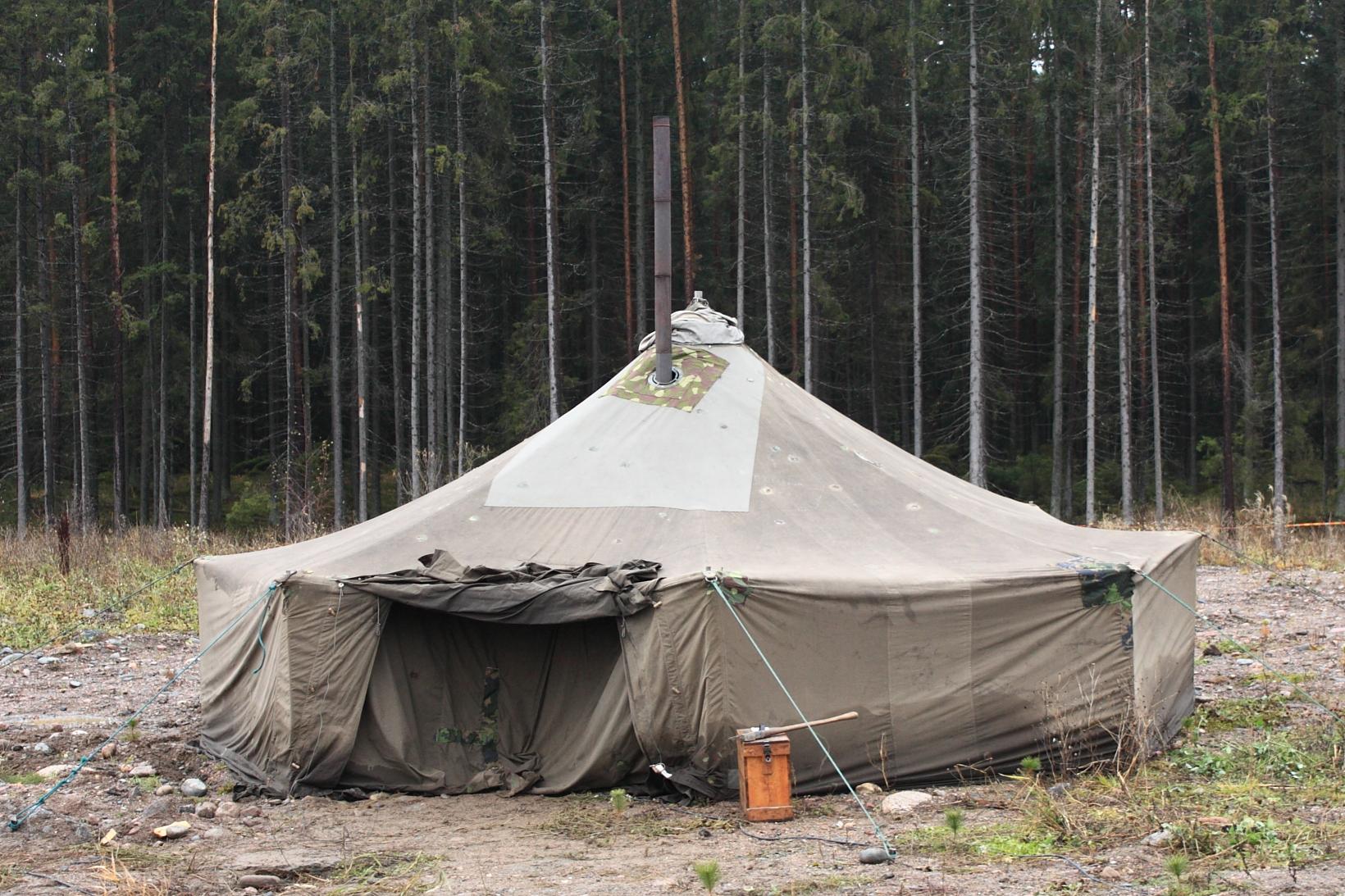 armeija teltta