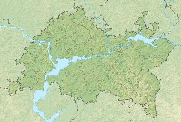 Dosiero:Relief Map of Tatarstan.png