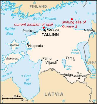 Second Oil Disaster In Estonia Within Two Months