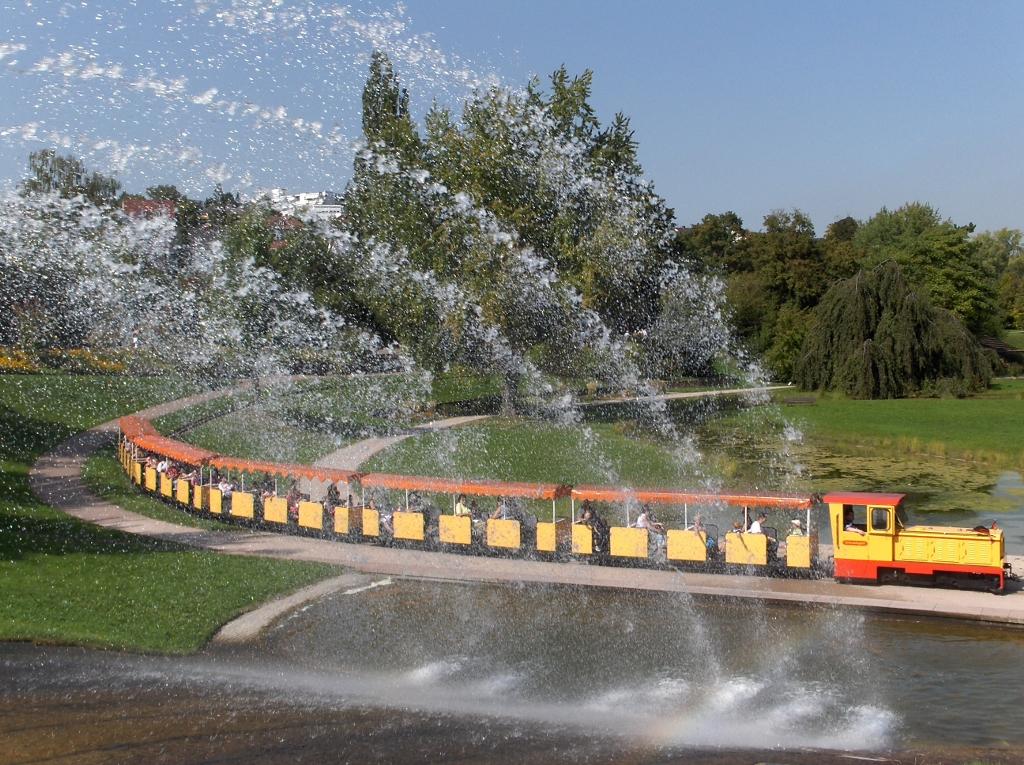 Train in the Killesbergpark
