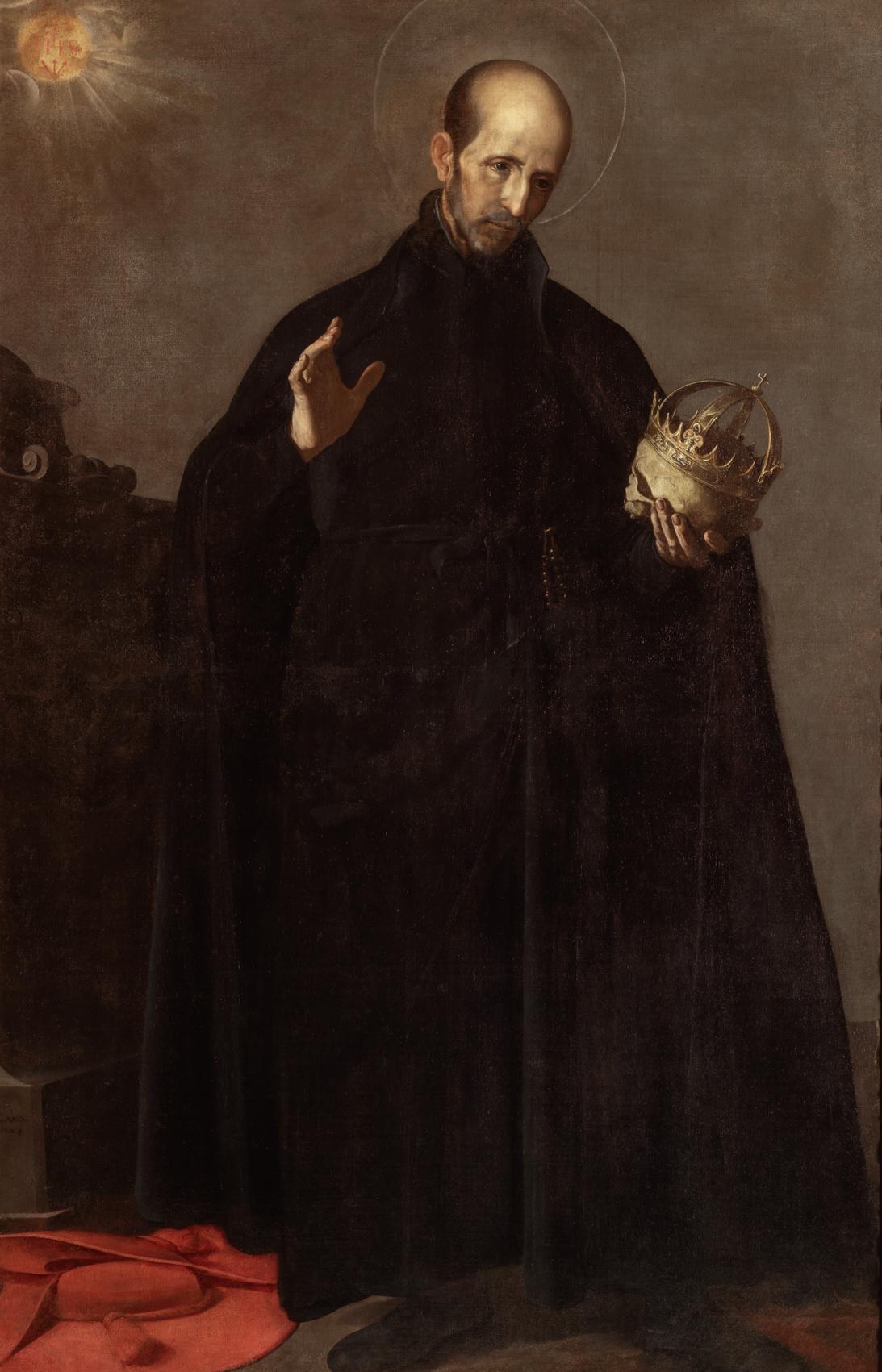 Depiction of Francisco de Borja