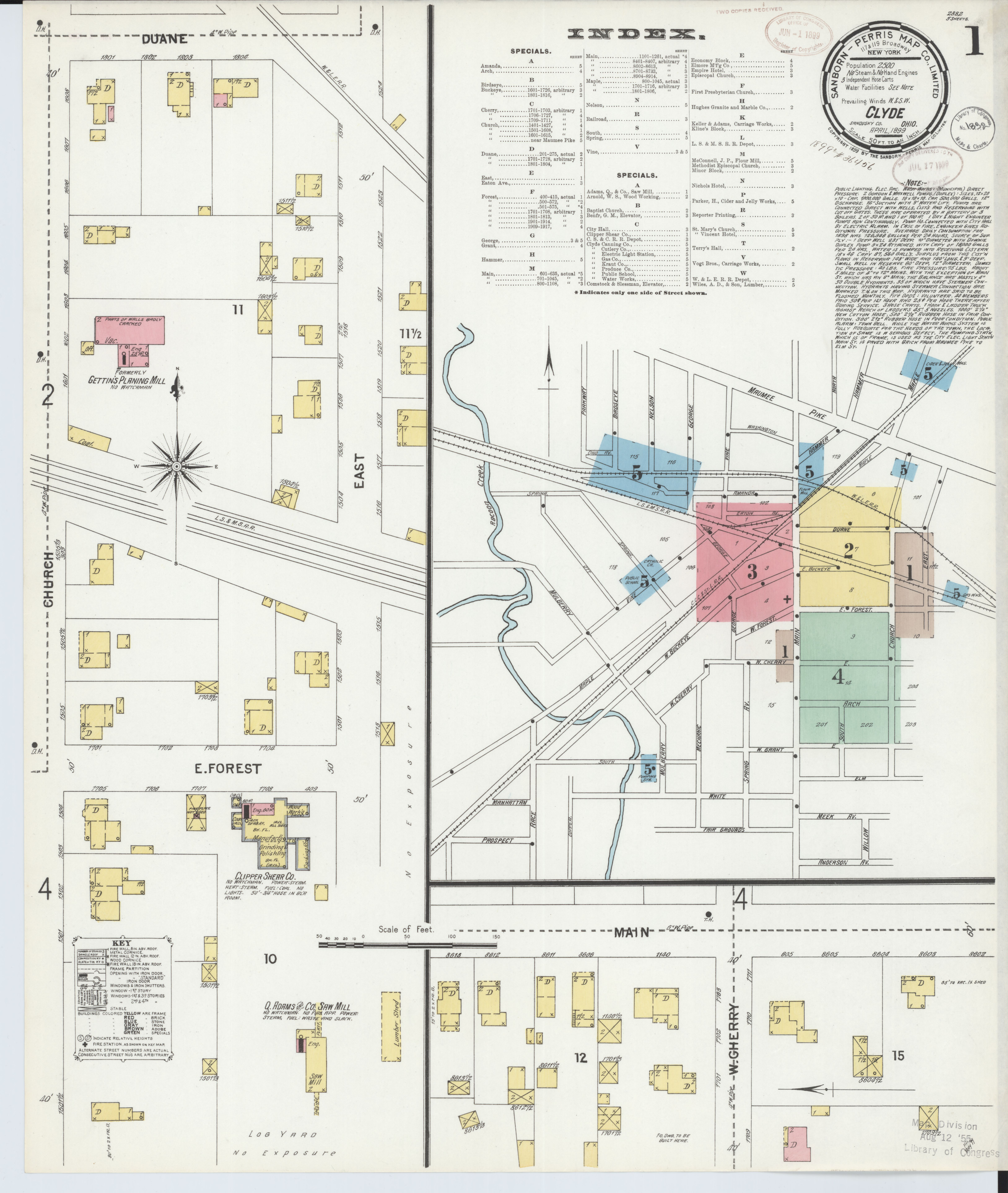 File:Sanborn Fire Insurance Map from Clyde, Sandusky County ... on northwest ohio cities map, bowling green state university ohio map, erie county ohio map, sandusky ohio road map, ottawa county ohio map, city of youngstown ohio map, sandusky river ohio map, scioto county ohio map, seneca county ohio map, upper sandusky ohio map, wood county ohio map, sandusky ohio folded street map, ohio ohio map, wyandot county ohio map, fremont ohio map, fort sandusky ohio map, eaton ohio street map, cuyahoga county ohio map, wake forest ohio map, henry county ohio map,