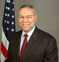 colin powell of the USA and words of wisdom on the acts of Kindness
