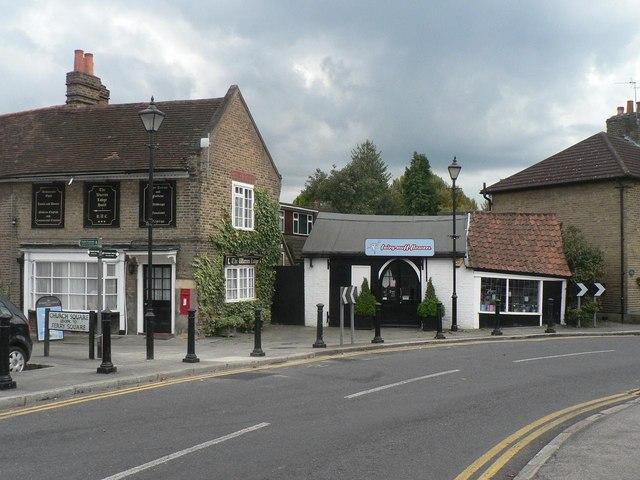Shepperton, a skew-whiff shop - geograph.org.uk - 558731