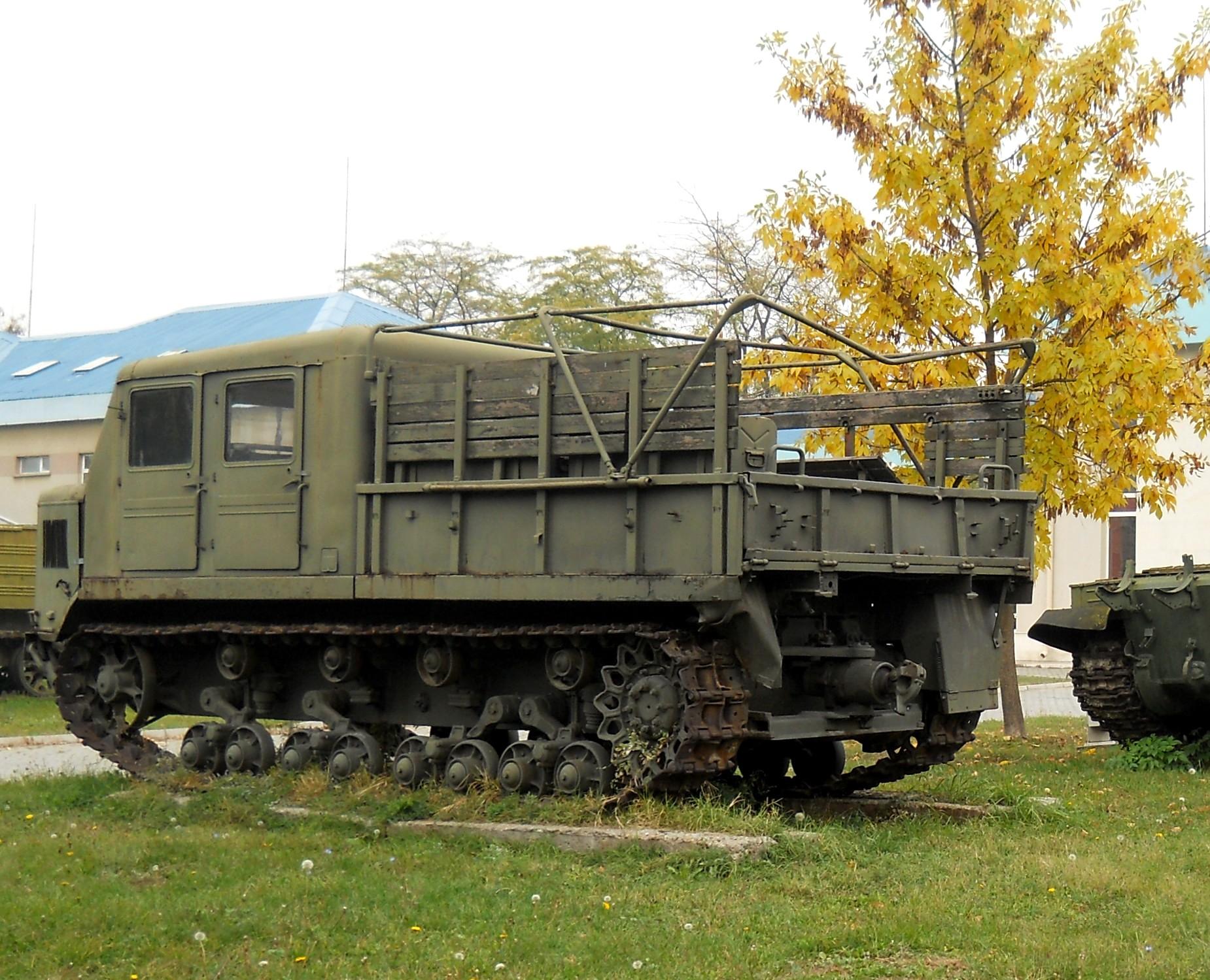 FileSofia Bulgaria AT S artillery tractorjpg  : SofiaBulgaria AT Sartillerytractor from commons.wikimedia.org size 1850 x 1500 jpeg 704kB