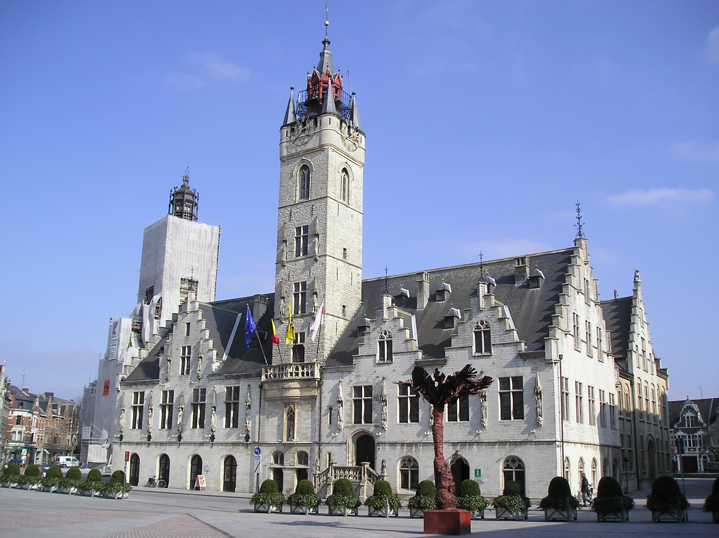 Dendermonde belfry of the city hall link