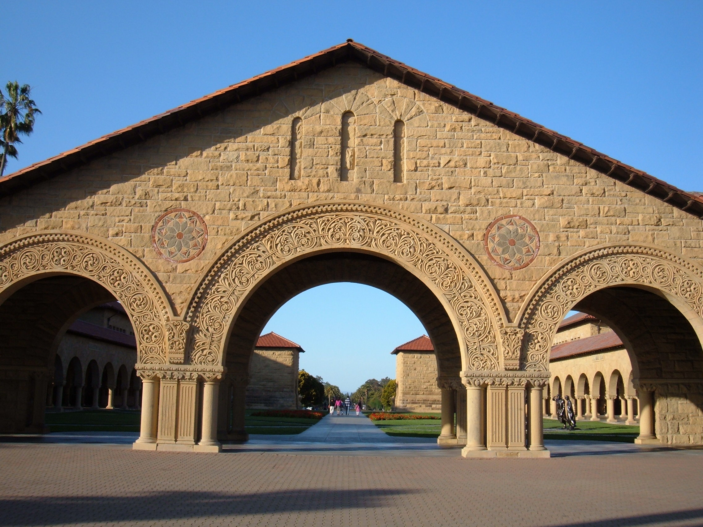 FileStanford University Main Quad western archwayJPG Wikimedia