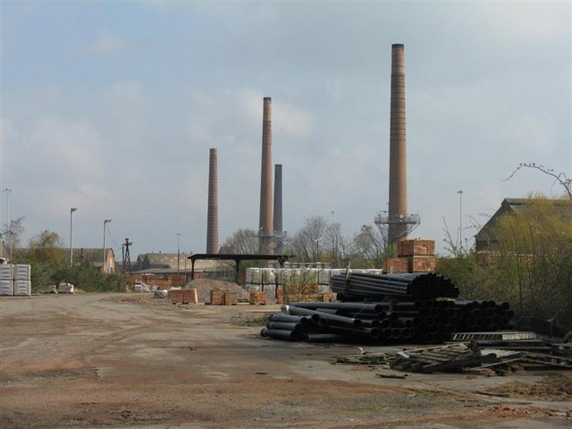 Stewartby brickworks - now closed - geograph.org.uk - 767104