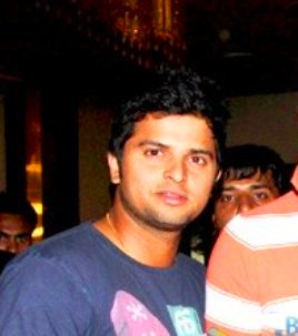 English: suresh raina
