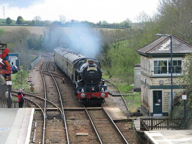 The 'Royal Duchy' approaches Liskeard Station - geograph.org.uk - 1837745