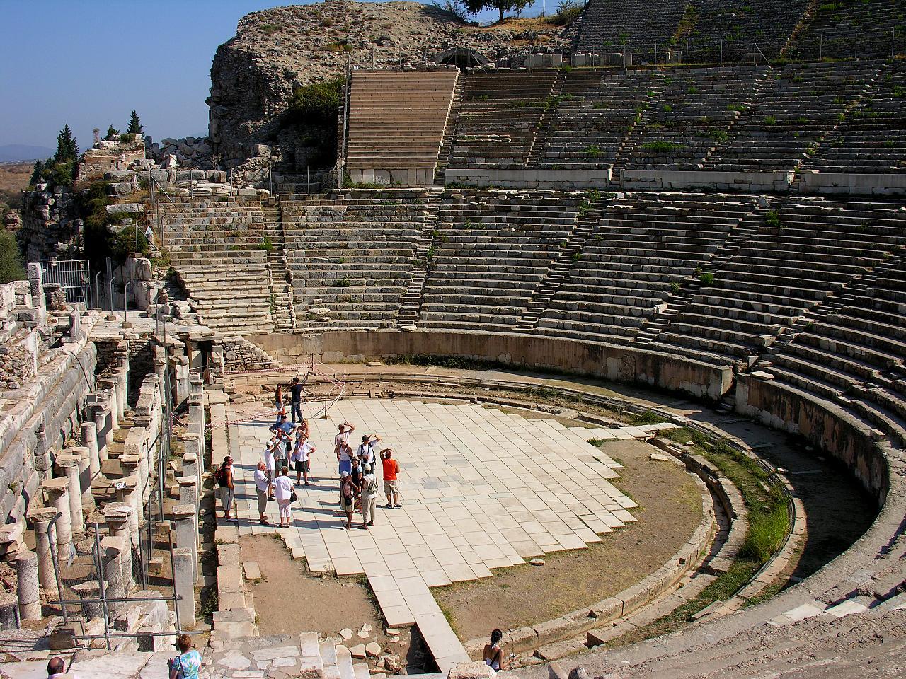 File:The Great Theatre in Ephesus, Turkey.jpg