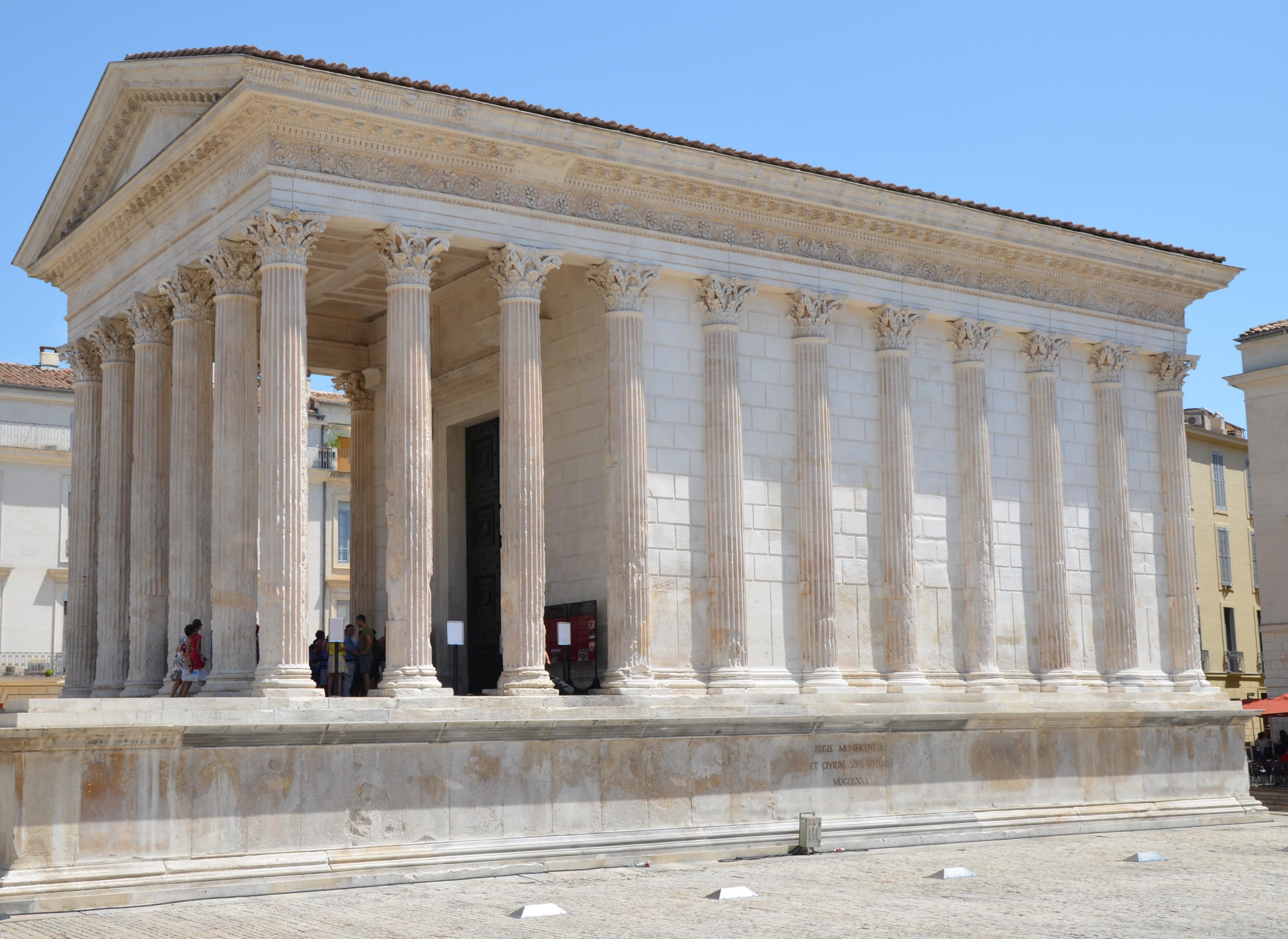 Ancient roman temples architecture the for Animateur maison france 5