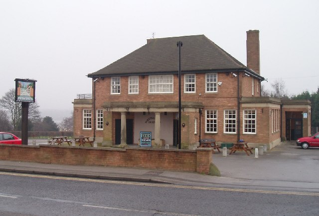 Creative Commons image of The Whitegates Hotel in Mansfield