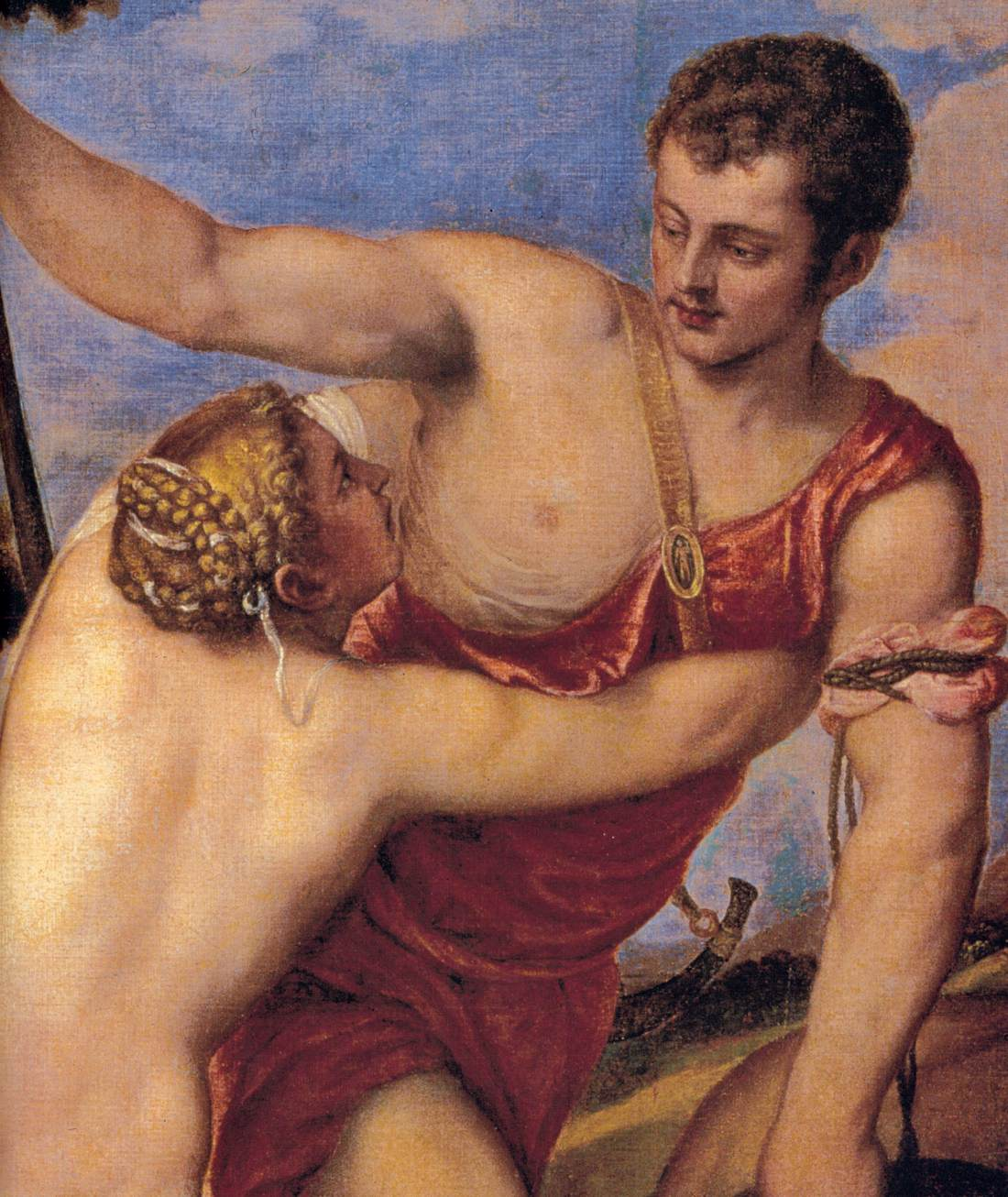 Titian - Venus and Adonis (detail) - WGA22881