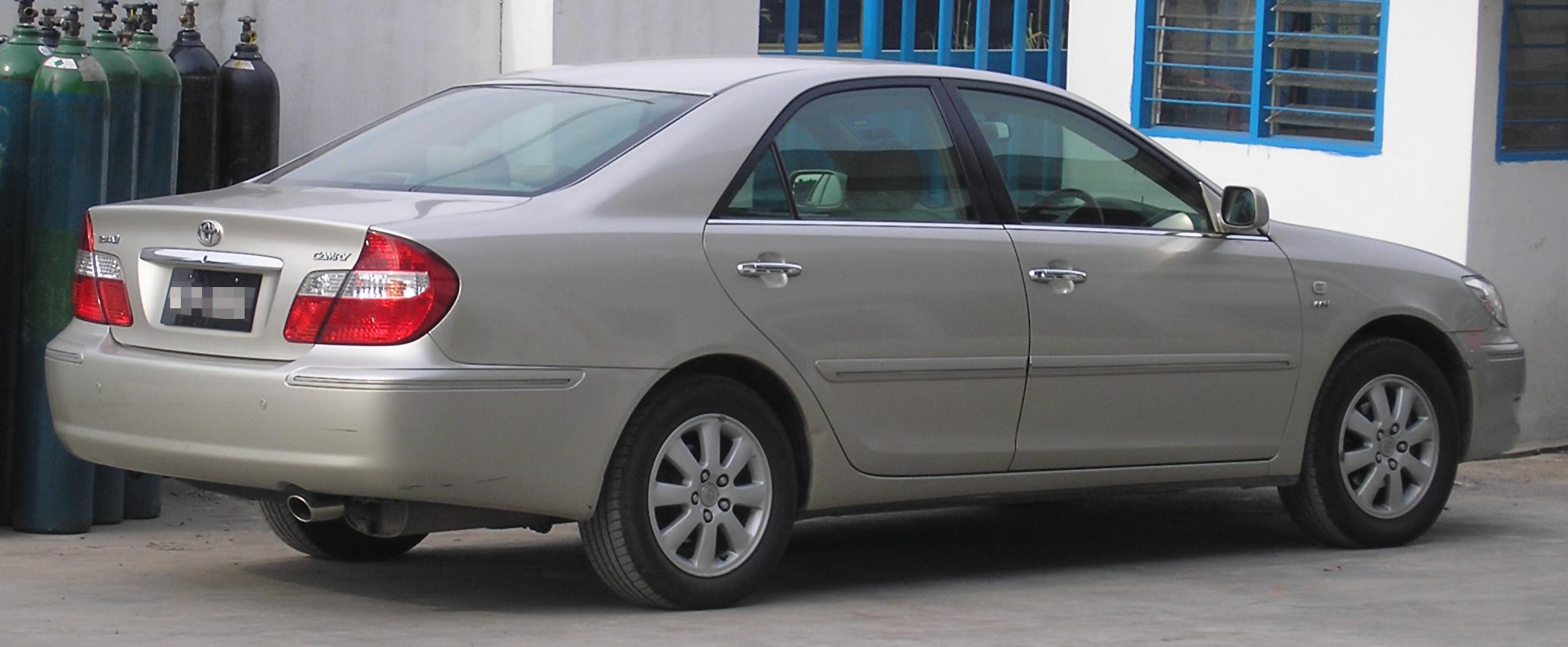 File Toyota Camry Fifth Generation Rear Kuala Lumpur