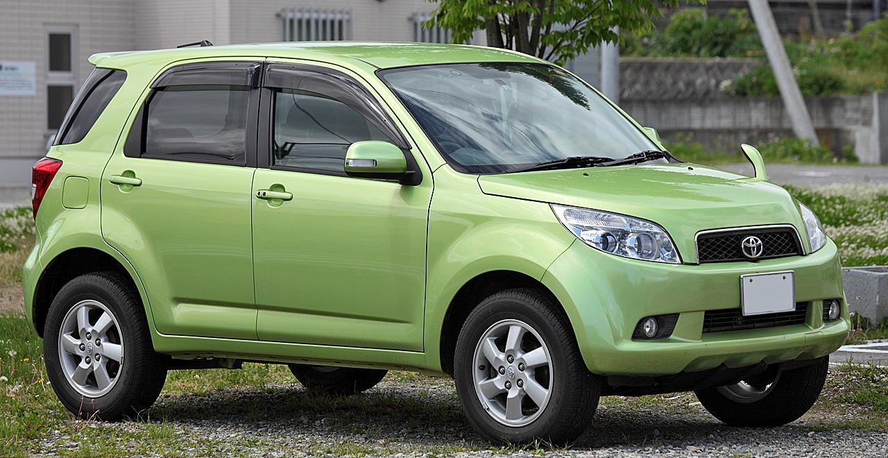 Toyota Rush (J200/F700)