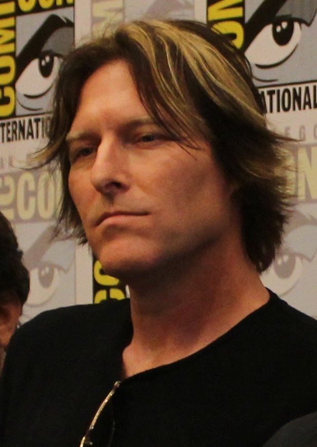 Bates at the [[San Diego Comic-Con]] in 2014