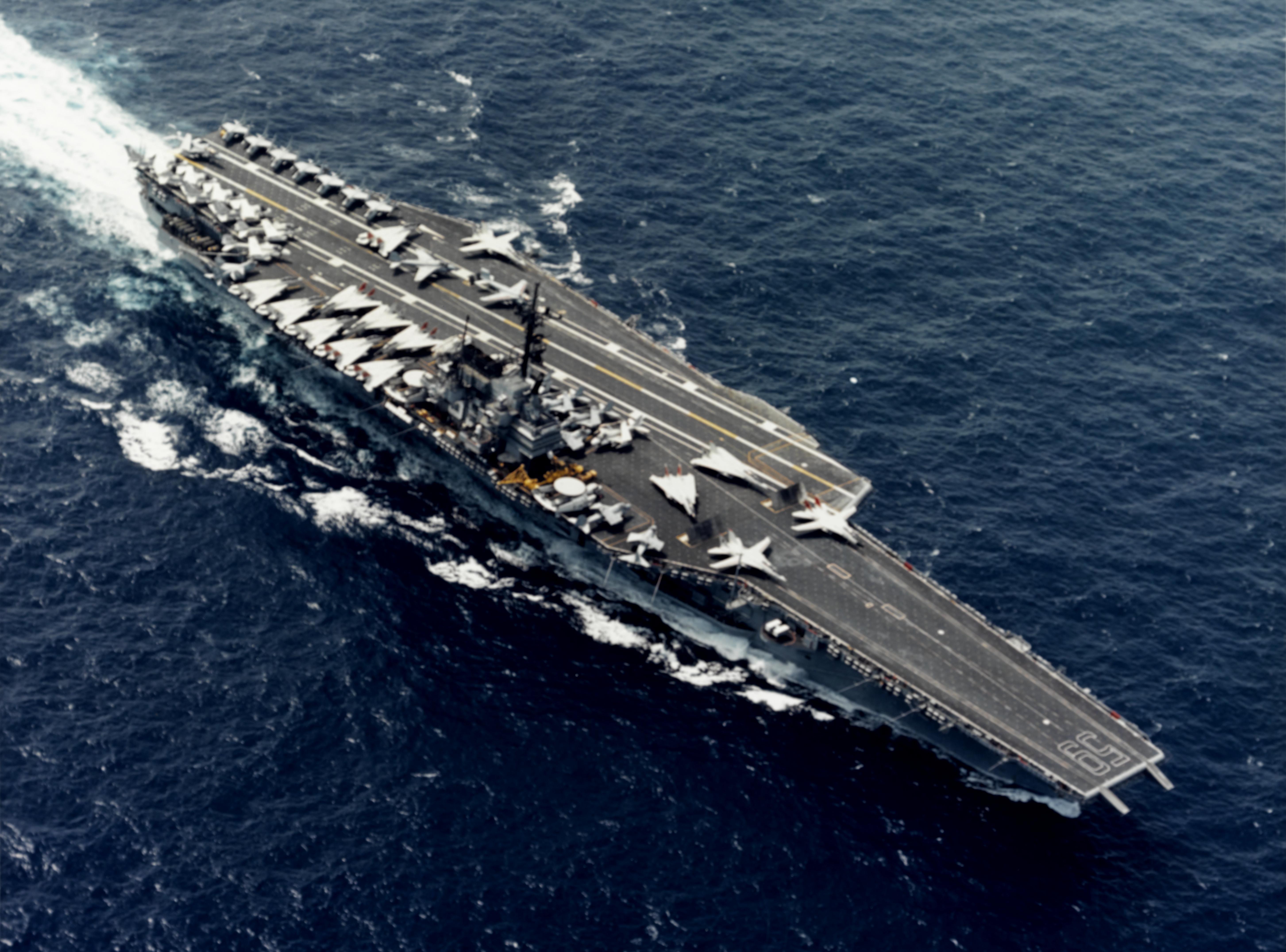 US NAVY FACT FILE Aircraft Carriers CVA-59 USS Forrestal