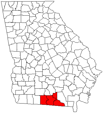 Valdosta Georgia Metropolitan Area Wikipedia - Georgia map valdosta