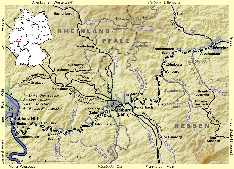 Afbeeldingsresultaat voor lahntalbahn.