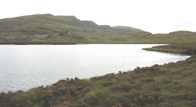 View south across Llyn Newydd - geograph.org.uk - 559897