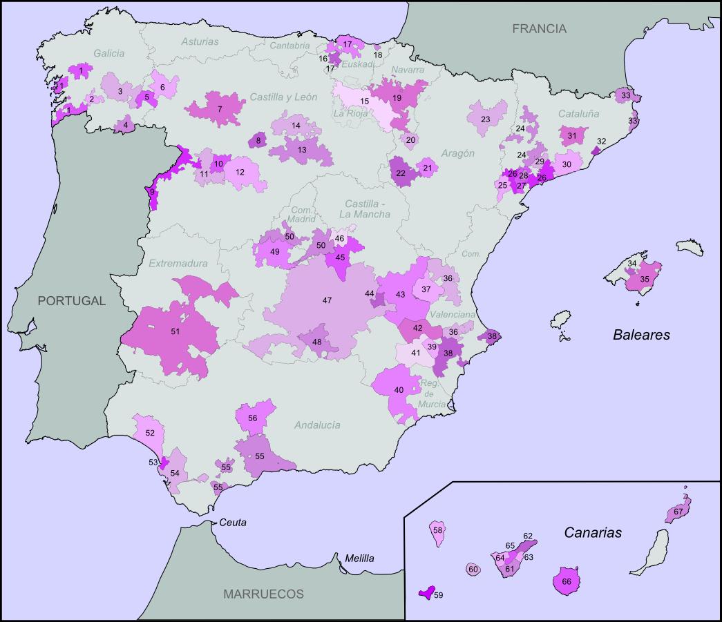 Spain Map Of Wine Regions.Spanish Wine Regions Wikipedia