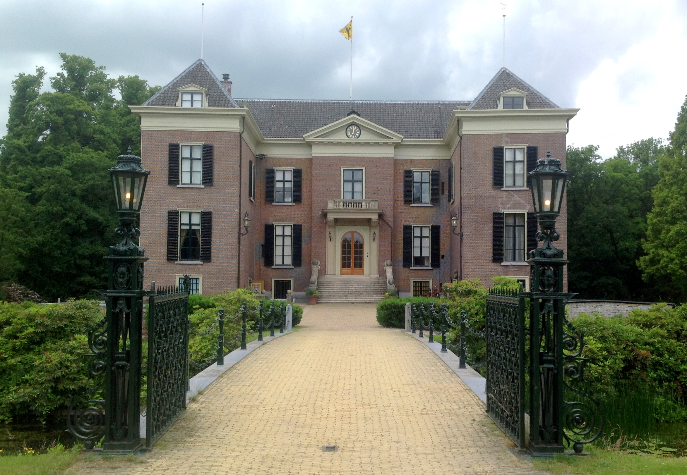 ~~~ ORGINAL~~~ POSTKARTE ~~~ Schloss Huis Den Bosch in den Niederlanden