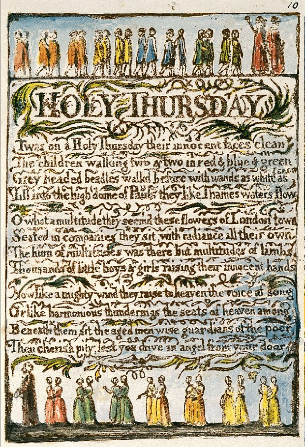 File:William Blake Holy Thursday Songs of Innocence - Copy L 1775 ...