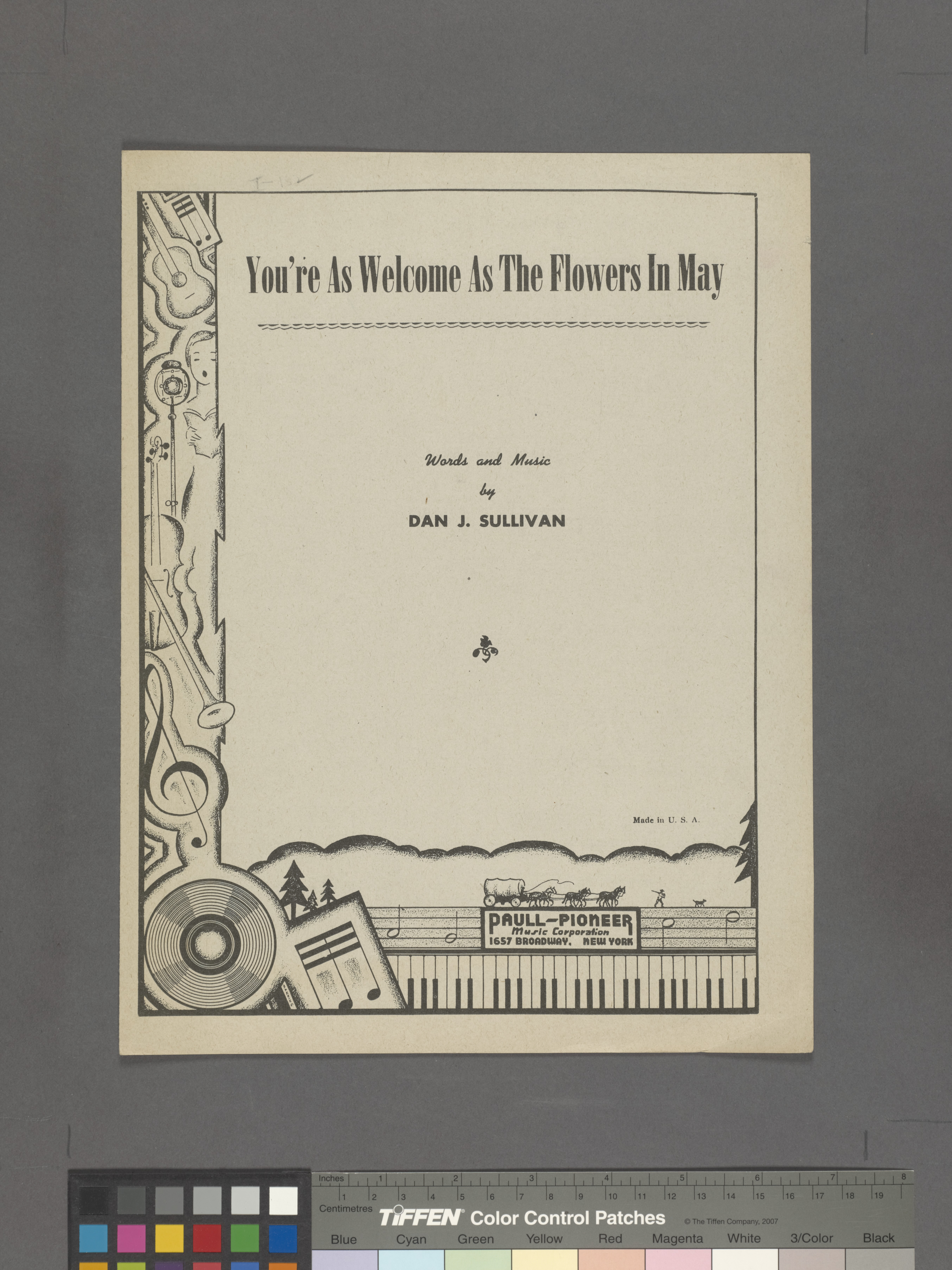 Fileyoure As Welcome As The Flowers In May Nypl Hades 1936041