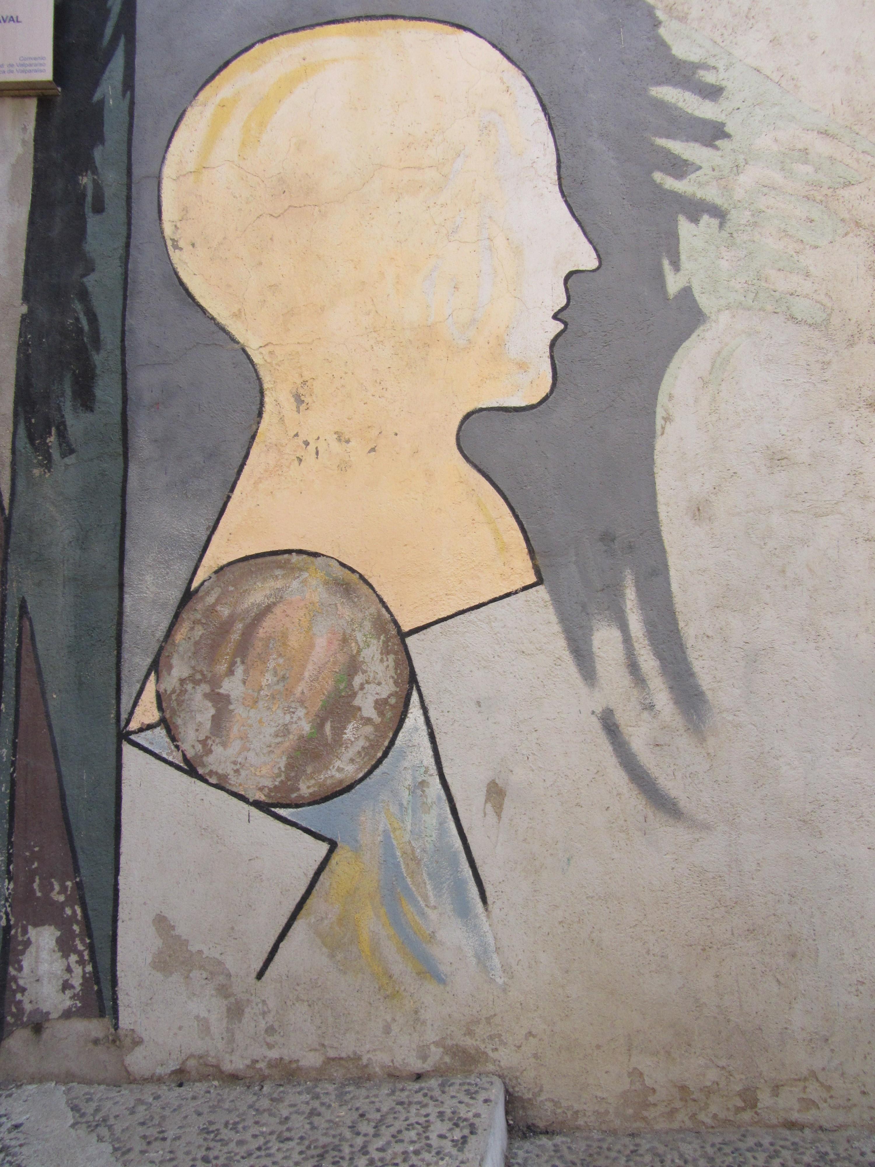 Mural Con Siluetas