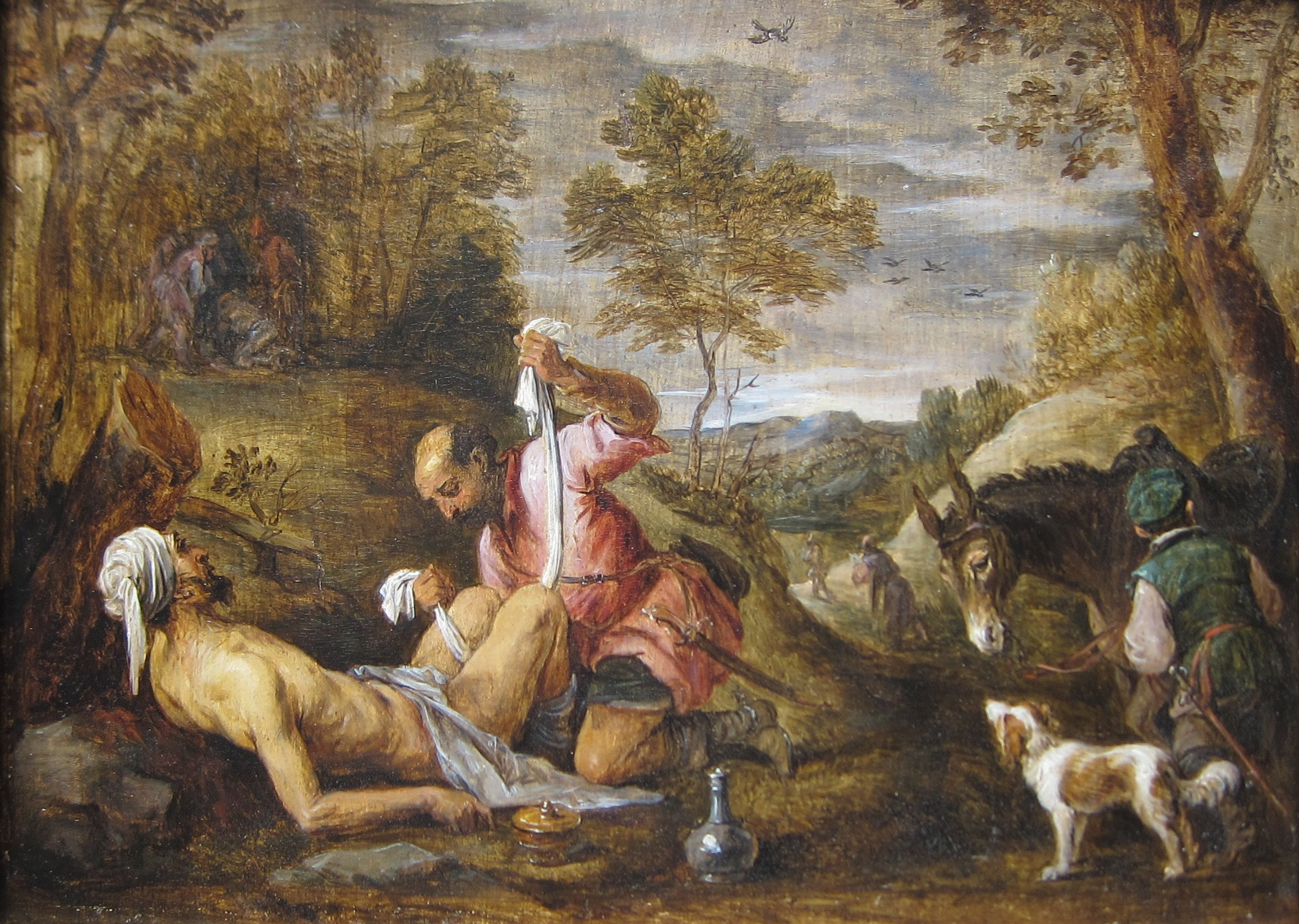 File:'The Good Samaritan' by David Teniers the younger after