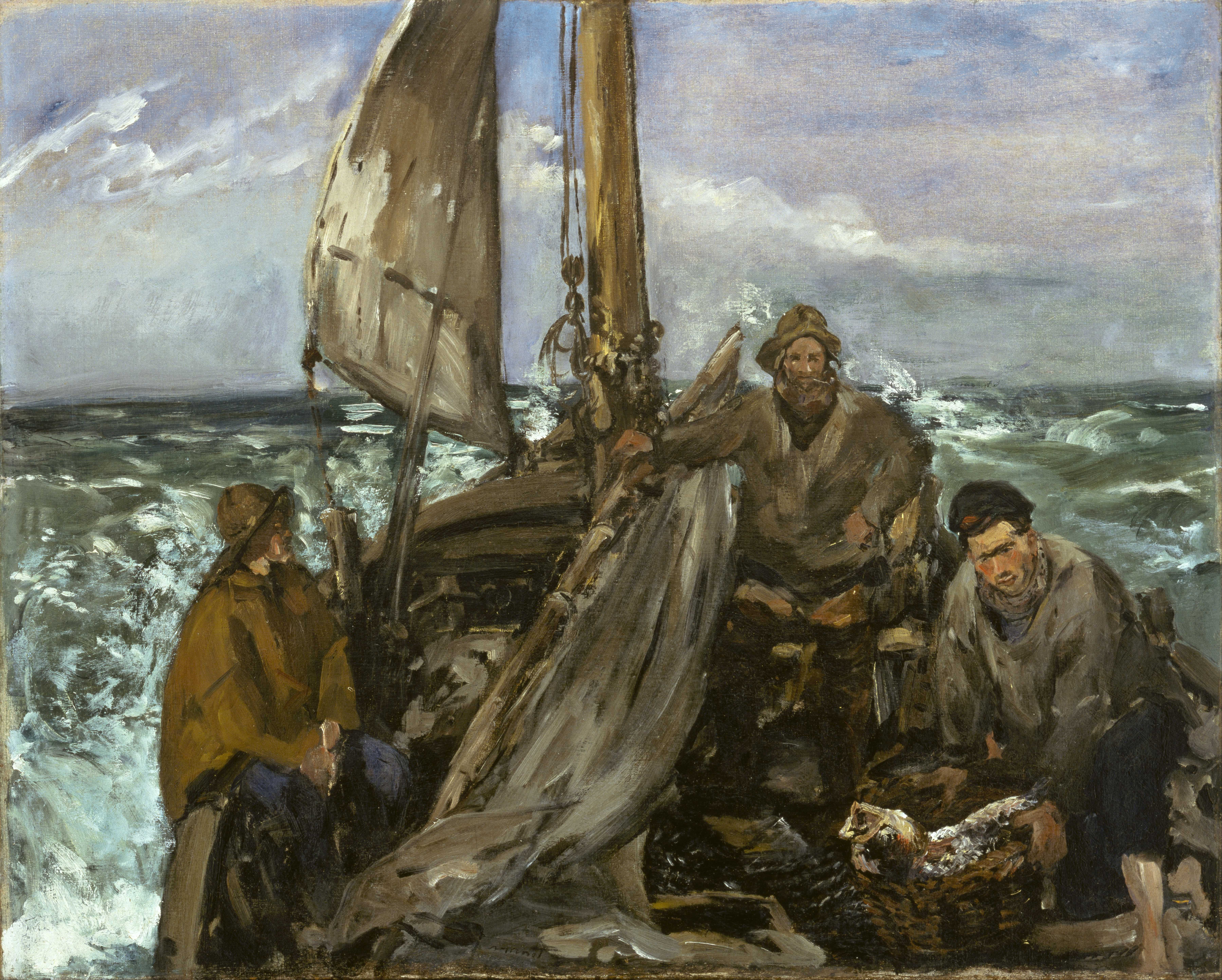 File 201 Douard Manet The Toilers Of The Sea Google Art border=