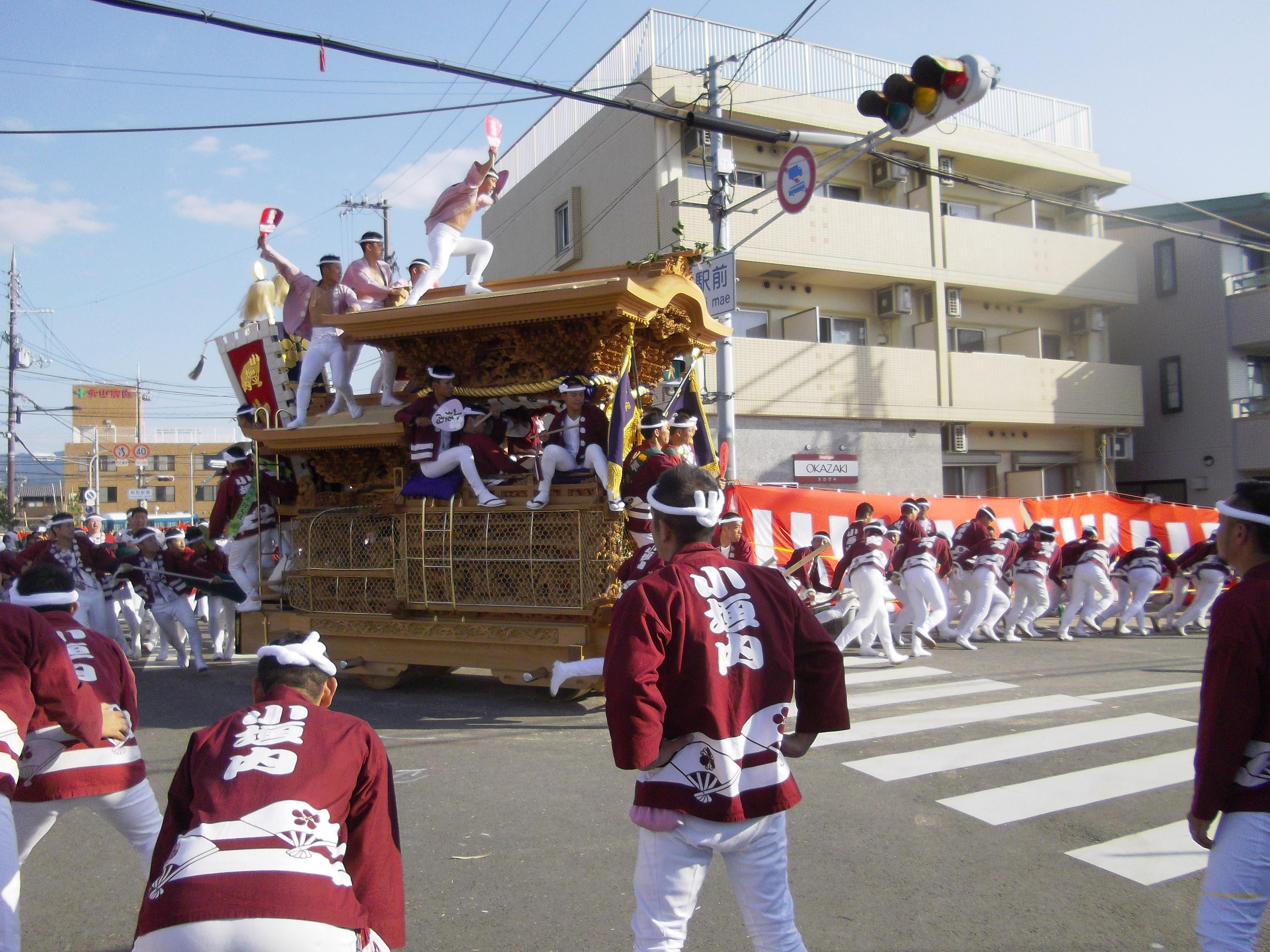 岸和田だんじり祭りの画像