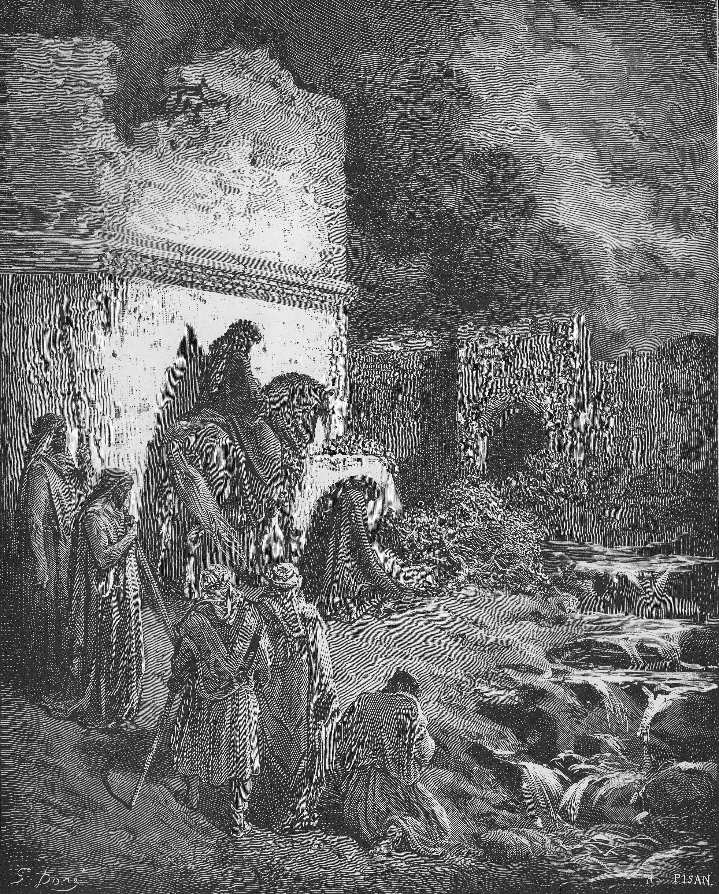 Image result for Jerusalem is ruined, and Judah is fallen